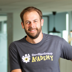 James Harvey (Head of Academy at DevOpsGroup)